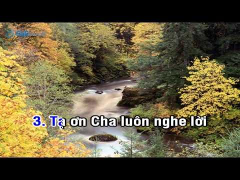 [Karaoke TVCHH] 185- BÀI CA CẢM TẠ - Salibook