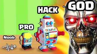 BUILDING the STRONGEST ROBOT CYBORG in Robota War! (Robot Simulator)