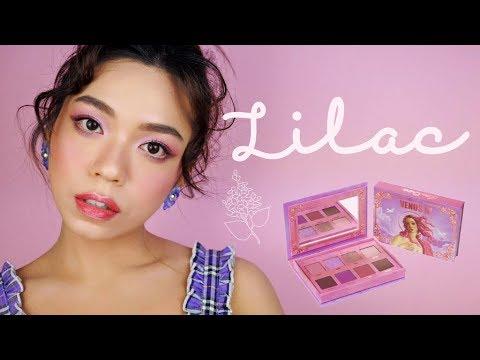 紫丁香夏日妝容-|-lilac-summer-makeup-ft.-venus-3-palette-|-want!-magazine