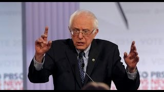 """Bernie Sanders Asked About Evil """"Big Government"""""""