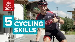 5 Cycling Skills You Can Learn Anywhere   GCN
