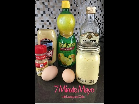 How to Make Olive Oil Mayo in 7 mins