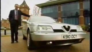 Alfa Romeo 164 by Quentin Willson - official publicity film