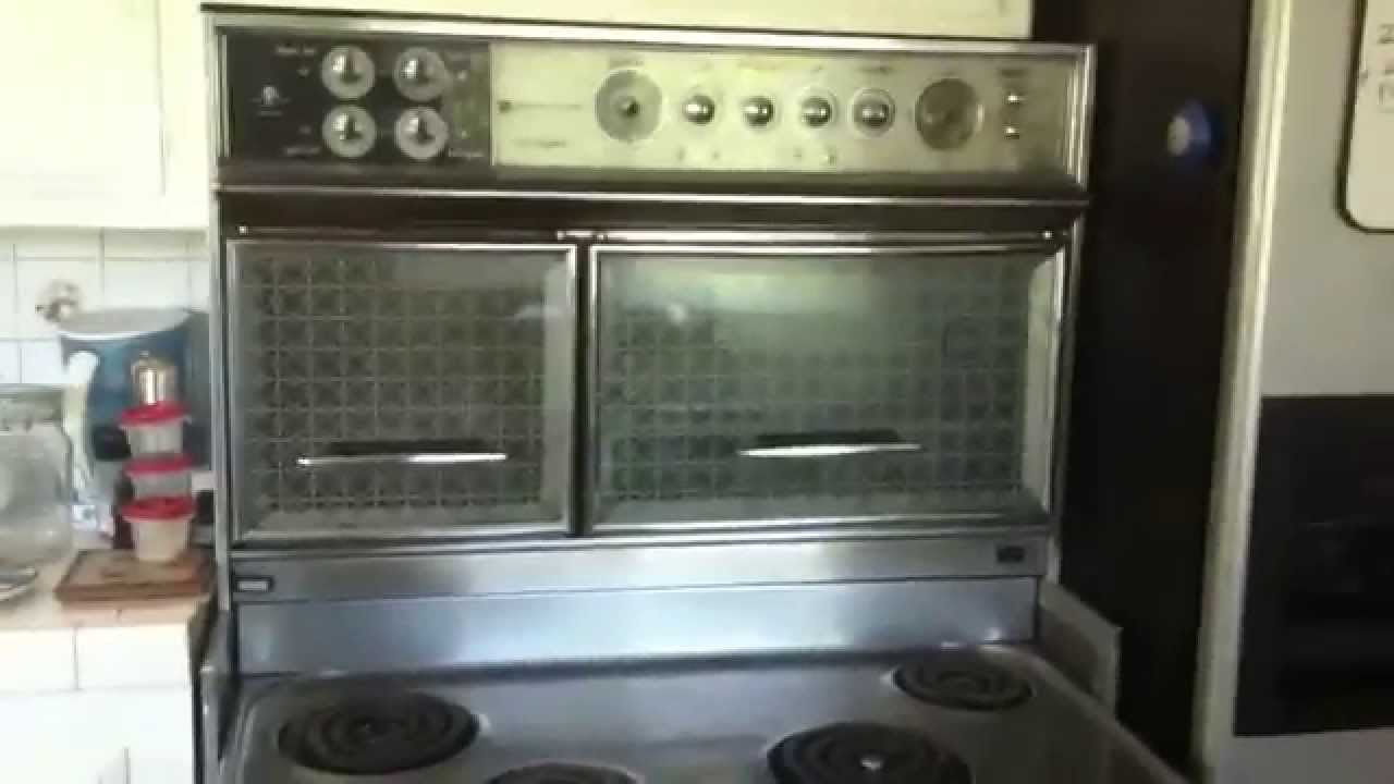 1960 Flair Electric Vintage Stove Youtube