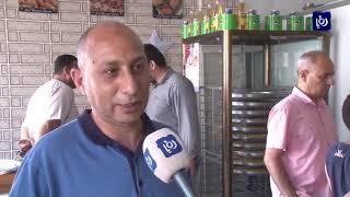 إقبال على الحلويات خلال الشهر الفضيل في قطاع غزة (26-5-2019)