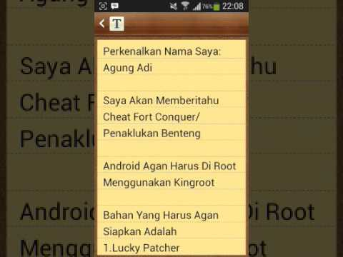 Cheat Game Fort Conquer/Penaklukan Benteng Dijamin 1000%