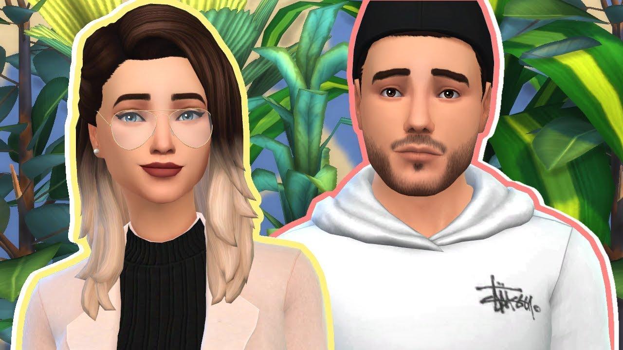 ZALFIE - The Sims 4 Create a Sim | Alfie Deyes and Zoe