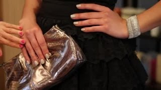 What to Pair up With a Black Dress for a Wedding : Fashion & Accessories