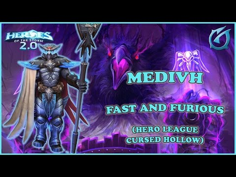 Grubby   Heroes of the Storm 2.0 - Medivh - Fast and Furious - HL - 2017 S1 - Cursed Hollow