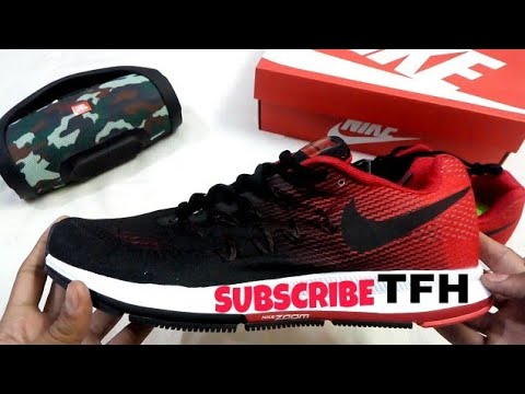 unboxing-zoom-pegasus-33-black-red-sports-shoes-best-quality