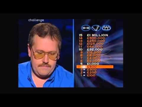 Series 5 Who Wants to be a Millionaire 19th November 1999 Last Episode in series v2