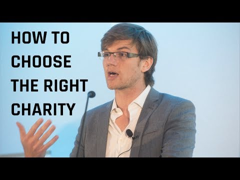 The Science of Choosing the Right Charity | Will MacAskill