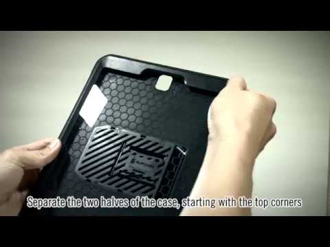 super cute 5570d d1b3a Galaxy Tab S3 Unicorn Beetle Pro case installation video | SUPCASE