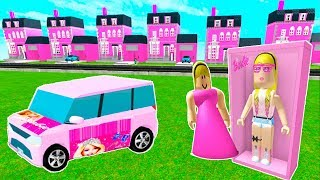 Barbie Cars & Dream Houses ! Roblox Games Let's Play Video
