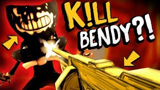 wait can we use this to destroy bendy   bendy and the ink machine chapter 3 secrets gameplay