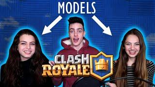 PRO PLAYER VS TWO MODELS!?! (Clash Royale insane 1 vs 2)