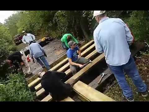Ruby Jack Trail Deck Repair, Boy Scout Troop 70, Carl Junction, MO