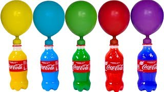 Learn Colors For Kids Wrong Heads Pj Masks Toys & Balls Balloons with CoCa Cups Beads For Kids