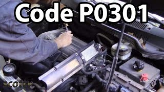 Why Do Engines Misfire, Code P0301 (Compression Test)