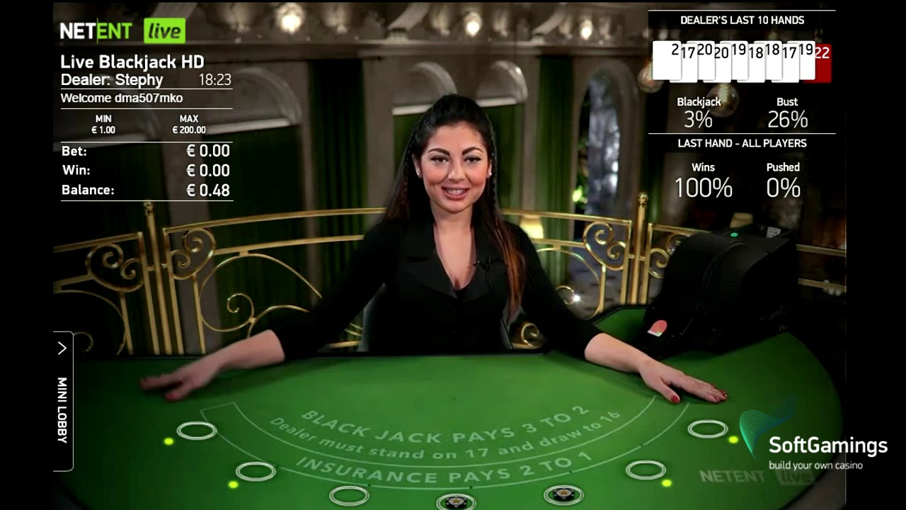 livecasino blackjack