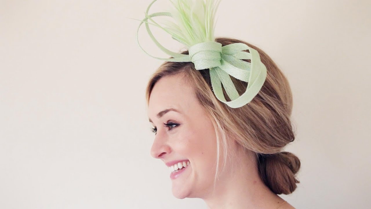 How To Make a Fascinator - YouTube 66f709574b7