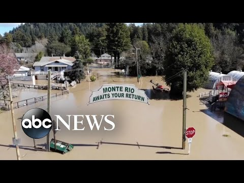 California braces for new storm after record floods