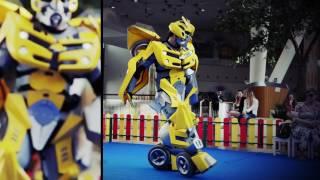 Железный человек против Бамблби. Интерактивное шоу на детский праздник.