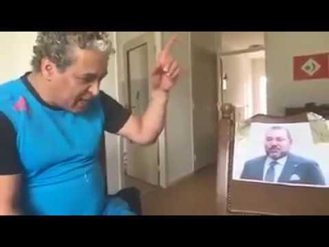Sadik Boujibar attacks King Mohammed VI of Morocco