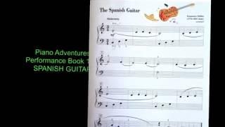 spanish guitar piano adventures performance bk level 1 p3