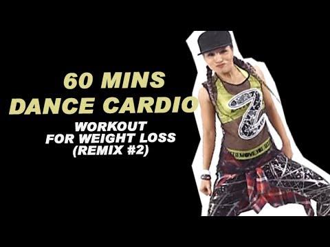 60 Mins DANCE CARDIO Workout for weight loss (Remix #2)| 60 phút ĐỐT MỠ, EO THON, NGỰC MÔNG SĂN CHẮC