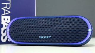Sony SRS-XB20 Extra Bass Wireless Speaker Review