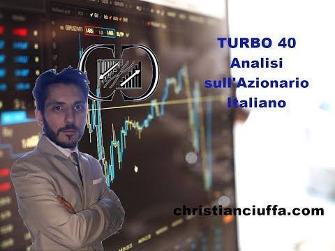 Turbo 40: Azionario Italiano con Christian Ciuffa