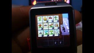 como instalar juegos en smartwatch dz09