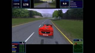 Need for Speed Road Challenge - Race / Celtic Ruins / Ferrari F50