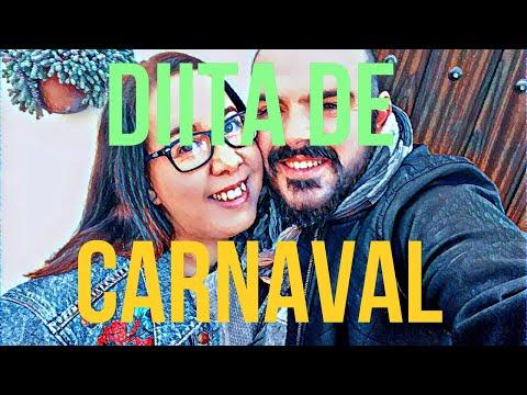 Diita de carnaval / vaciar mueble