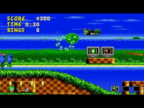 Sonic 1 Brother Trouble demo - Manic