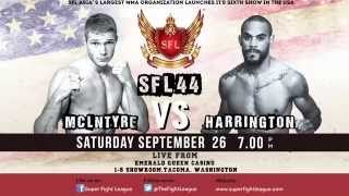 SFL - 44 USA | Official Promo | Upcoming MMA Event 2015