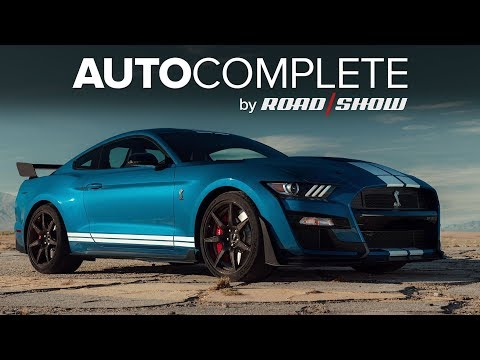AutoComplete: Ford's 2020 Mustang Shelby GT500 makes 760 hp