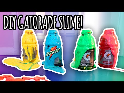 Thumbnail: DIY How To Make Gatorade Slime! | Super Fun & Easy!