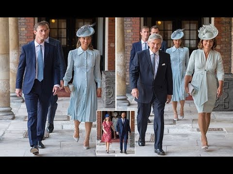 Pregnant Pippa Middleton looked radiant in baby blue for Prince Louis christening
