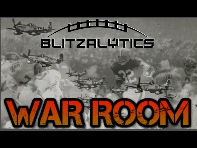 WAR ROOM | 2021 NFL Draft | Blitzalytics Scouting