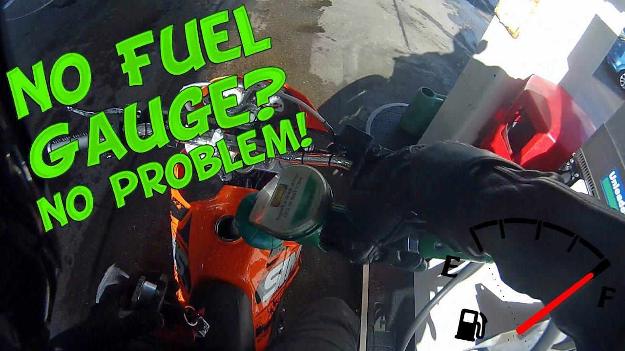 Honda Vtx Wiring Diagram No Fuel Gauge No Problem Youtube