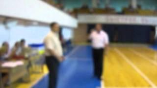 Открытие баскетбольного турнира