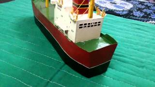 How to make Ship with paper