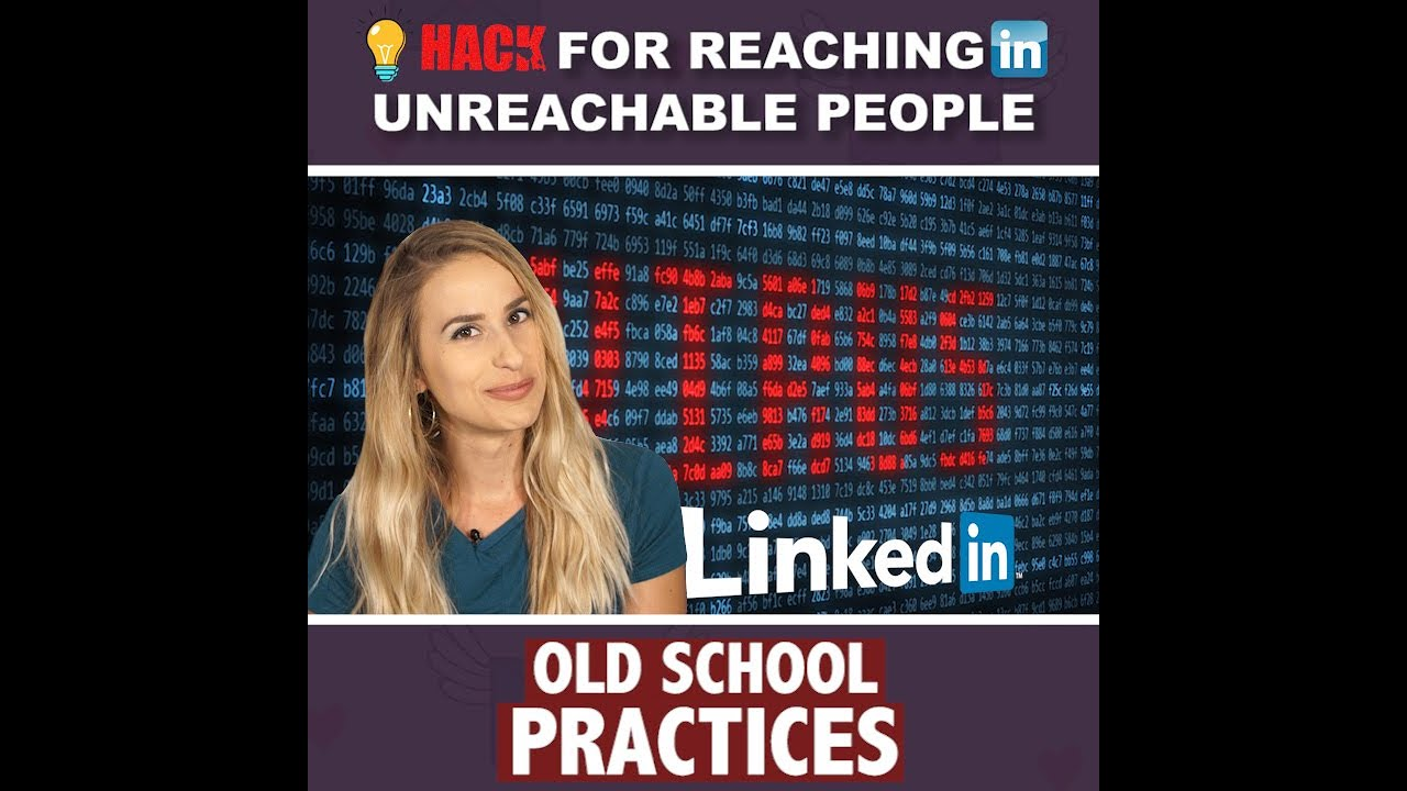 Hack for Reaching LinkedIn Unreachable People