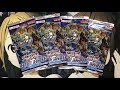 Opening Four Destiny Soldiers Yugioh Booster Packs TCG
