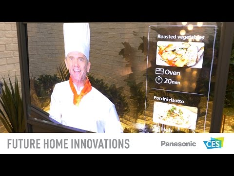 See Panasonic's Stunning Vision Of The Future Home At CES 2017