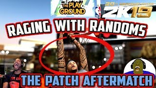 RAGING WITH RANDOMS - TESTING SHOOTING AFTER CHANGES WERE POSTED ON MIKE WANG'S TWITTER - NBA 2K19