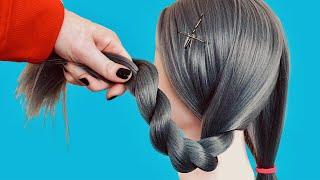 ЛЕГКО СДЕЛАТЬ Красивая Прическа Корона Корзинка из волос Прически 2021 How to Easy Crown Braid