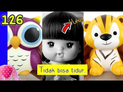 Mainan Boneka Eps 126 Yuka Tidak Bisa Tidur, Main Squishy - S1P15E126 GoDuplo TV